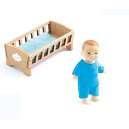 Djeco - Docka Baby Sacha