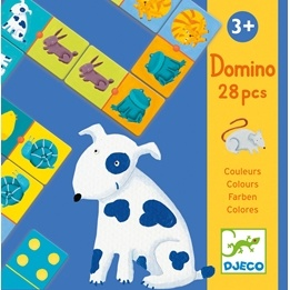 Djeco - Domino - Colour animals