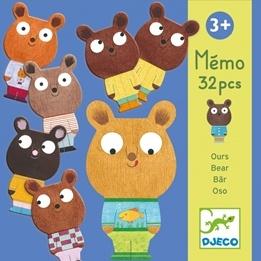 Djeco - Memo Bears