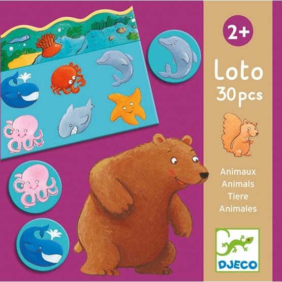 Djeco - Lotto - Animals