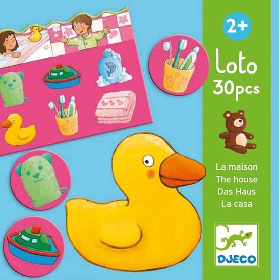 Djeco - Lotto - I Hemmet