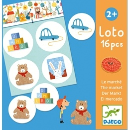 Djeco - Spel - Lotto - The Market