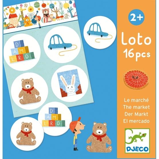 Djeco - Spel - Lotto - The Market