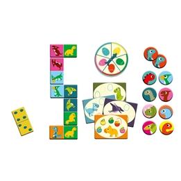 Djeco - Spel - Dinosaurs Memory, Domino, Bingo