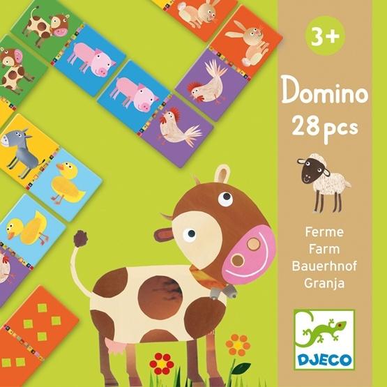 Djeco - Domino - Bondgård
