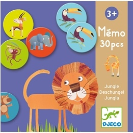 Djeco - Memo - Jungle