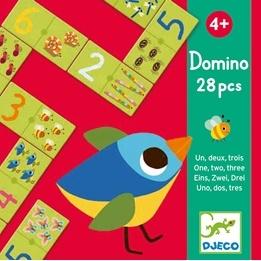 Djeco - Domino - 1 -2 -3