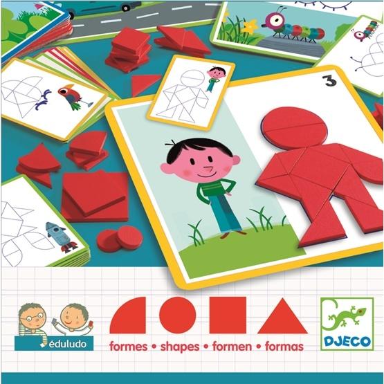 Djeco - Kul Med Geometri