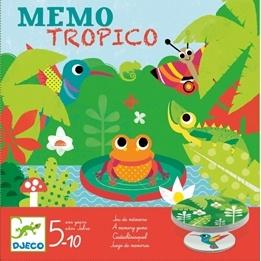 Djeco - Games - Memo Tropico