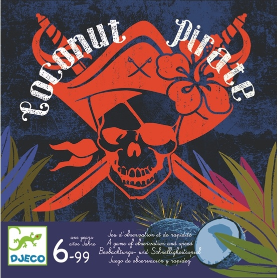 Djeco - Games, Coconut Pirate