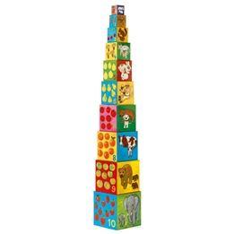 Djeco - Stapeltorn - Räknetornet