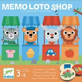 Djeco - Spel - Memo loto shop