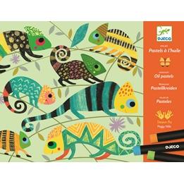 Djeco - Workshop Coloured Jungle