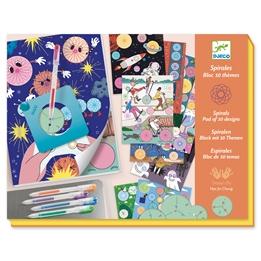 Djeco - Spirals - 10 Themes Block