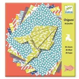 Djeco - Origamipapper Med Olika Mönster