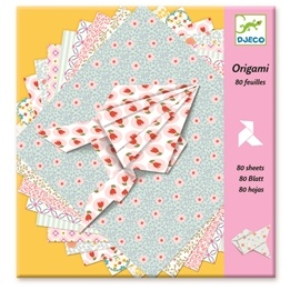 Djeco - Origamipapper Med Mönster