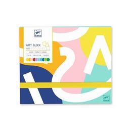 Djeco - Arty Block Colored Paper