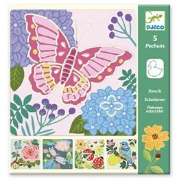 Djeco - Stencil Garden Wings
