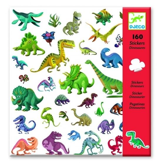 Djeco - Klistermärken - Dinosaurier