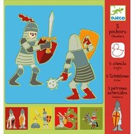 Djeco - Stencils - Knights