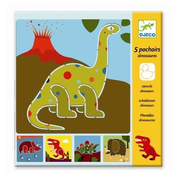 Djeco - Stencils - Dinosaurs