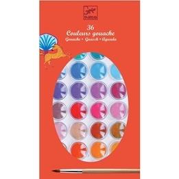 Djeco - Vattenfärg 36 Färger