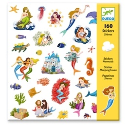 Djeco - Stickers - Mermaid