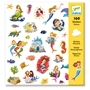 Djeco - Stickers - Mermaid