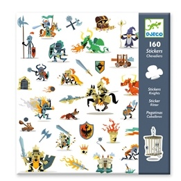 Djeco - Stickers - Knights