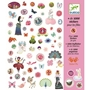 Djeco - 1000 stickers for girls