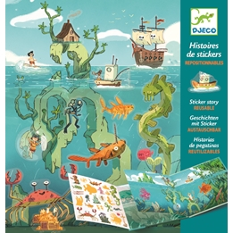 Djeco - Pyssel - Adventures At Sea