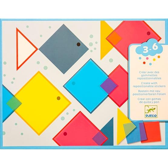 Djeco - Pyssel - Collage, Magic squares