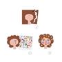 Djeco - Pyssel - Stickers, Hairdresser