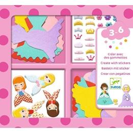 Djeco - Pyssel - I Love Princesses