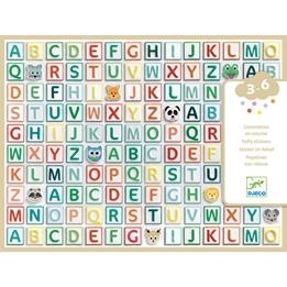 Djeco - Klistermärken - Alphabet Stickers