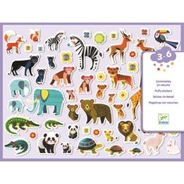 Djeco - Klistermärken - Stickers Mothers And Babies