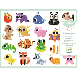 Djeco - Klistermärken - Baby Animals