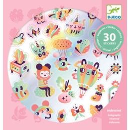 Djeco - Klistermärken - Lovely Rainbow Stickers