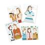 Djeco - Pyssel - Four seasons girls