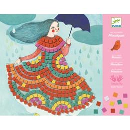 Djeco - Pyssel - Mosaic Kits - Party Dresses