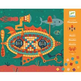 Djeco - Pyssel - Mosaic Kits - Ace At The Wheel