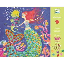 Djeco - Pyssel - Mosaic Kits - The Mermaids´ Song