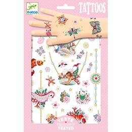 Djeco - Tatueringar - Tattoo - Fiona´s Jewels
