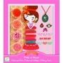 Djeco - Pärlor - Pysselset Rosa