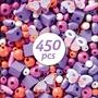 Djeco - Pyssel - Wooden beads, Butterflies