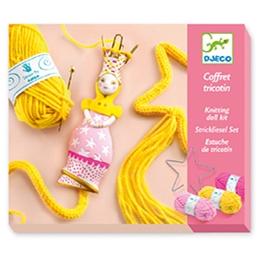 Djeco - Pyssel - Wool - French Knitting Princess