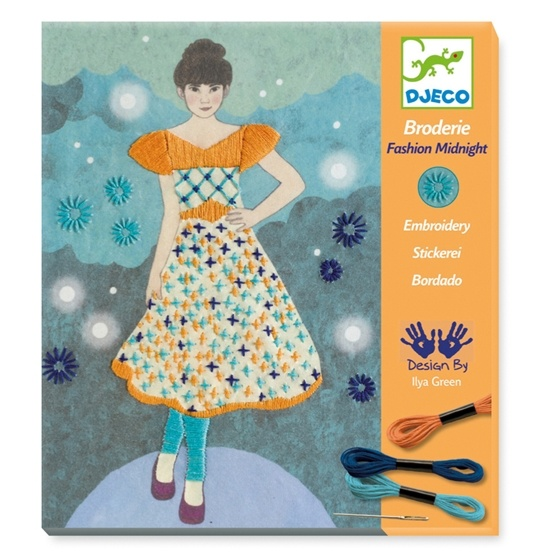 Djeco - Broderie - Fashion Midnight