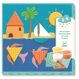 Djeco - Modelling Prints And Shapes