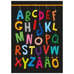 Ejvor - Poster ABC Multi Svart
