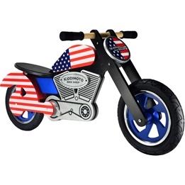 Kiddimoto - Balanscykel Usa Chopper